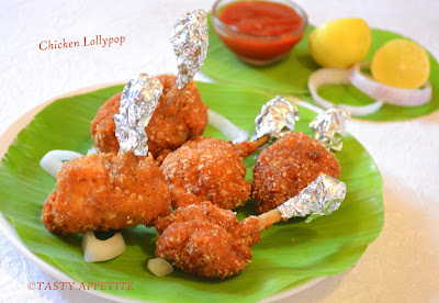To Prepare Chicken Lollypops from Chicken Wings