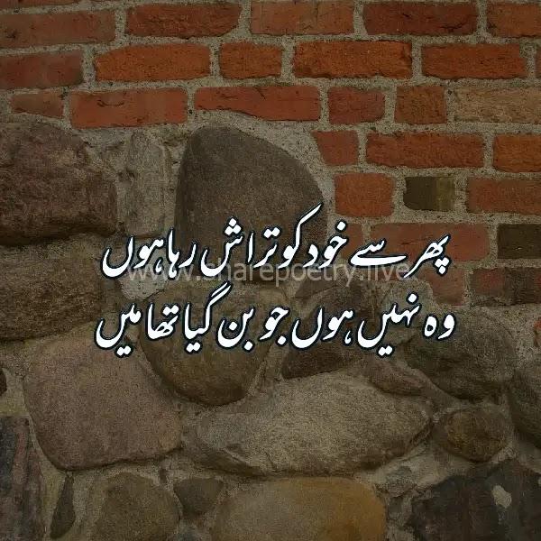 sad poetry i urdu 2 lines- urdu dukhi Shayari