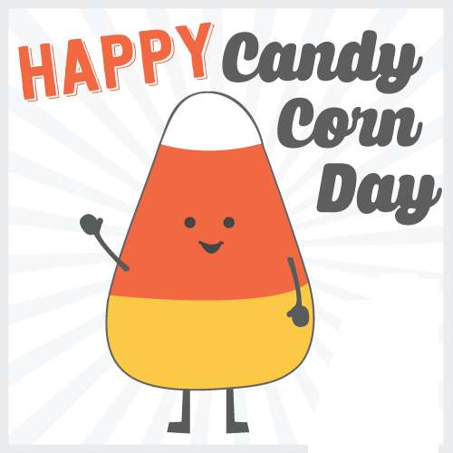 National Candy Corn Day Wishes Awesome Picture