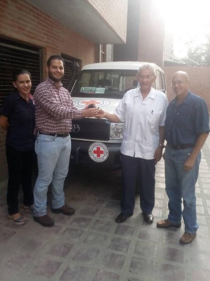 APURE: Robaron vehículo de la Cruz Roja en San Fernando.
