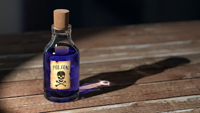 image of poison bottle