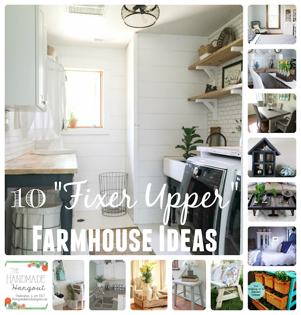 "10 Farmhouse ""Fixer Upper"" Ideas on #fg2b"