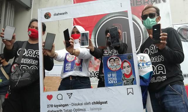 Sebar Wifi Gratis, Diwa Siap Gerakkan Medsos untuk Menangkan Gibran