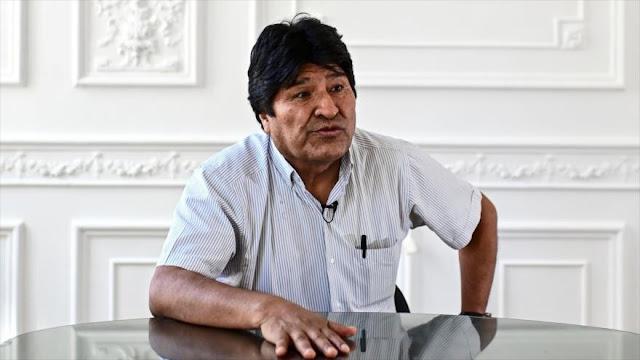 Morales: La complicidad de EEUU en el golpe de Estado es evidente
