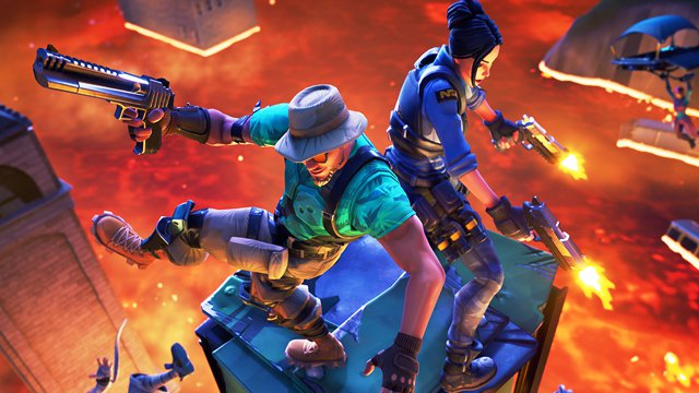 The Fortnite update 8.20 adds Arena mode and the floor is Lava LTM