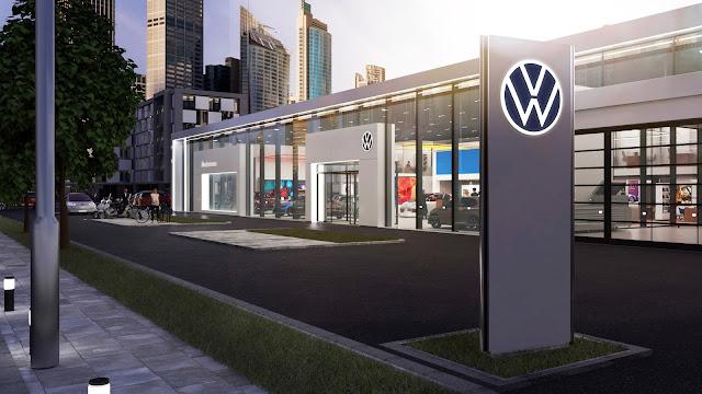 【設計】扁平化設計,為汽車品牌注入新視覺語彙 - 拋棄了原先的 3D 鍍鉻及陰影效果,改以厚實的深藍色統一呈現