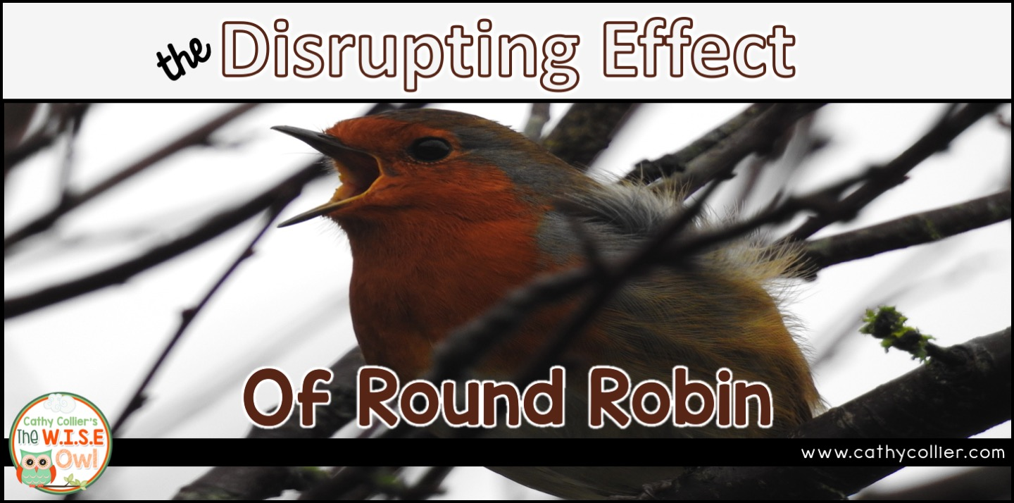 There is no research that shows the benefits of round robin reading. NONE. Actually, there is plenty of research that shows the disrupting effect of this practice. We need to take this procedure out of our classrooms.