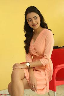 Rukshar Mir in a Peachy Deep Neck Short Dress 010.JPG