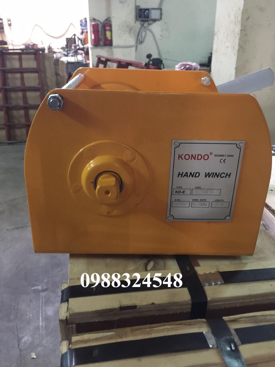 Tời quay tay Kondo KD-E 500kg