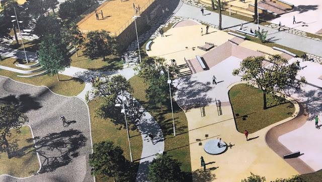 Nouveau skate park Montpellier JO grammont