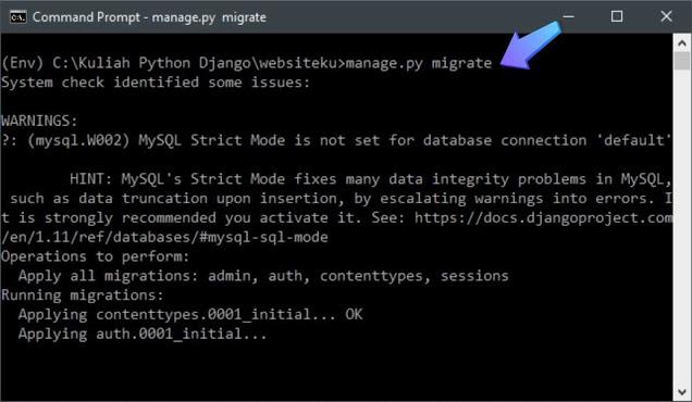 Integrasi Database MySQL