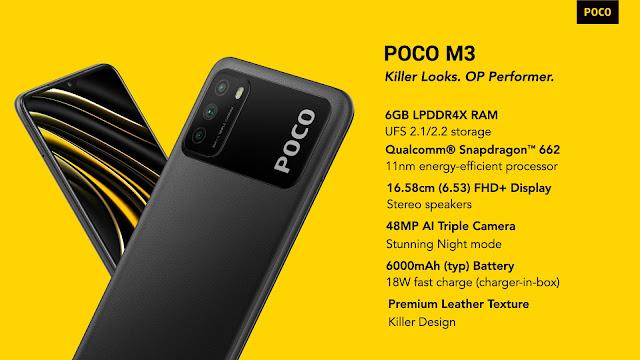 Features of POCO M3