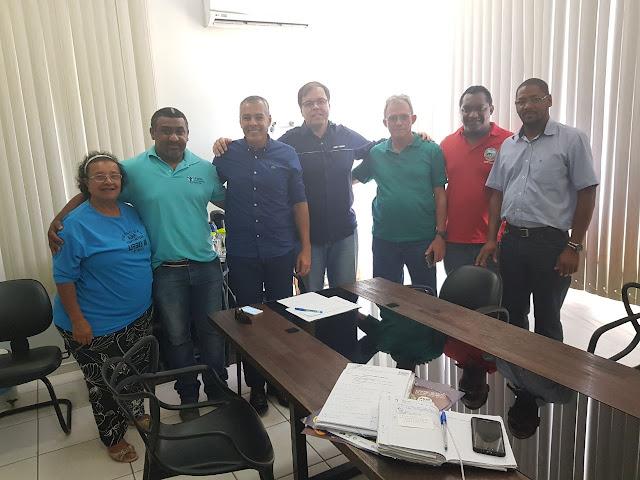 EXCLUSIVA: A pedido do SINDINTER, prefeito Joaquim Neto confirma construção do Sest/Senat, em Alagoinhas