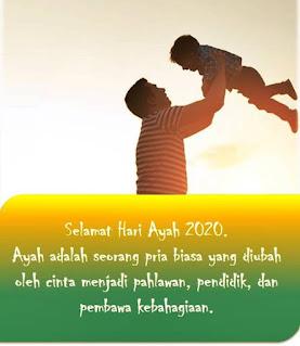 Gambar ucapan hari ayah nasional