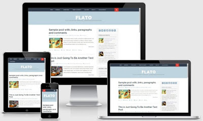 Flato Blogspot Template