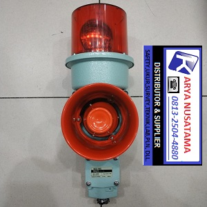 Jual SED Qlight  220 VAC Warning Sounds di Surabaya