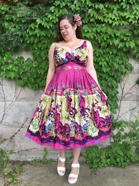 Retrospec'd Flamenco Elizabeth Dress review