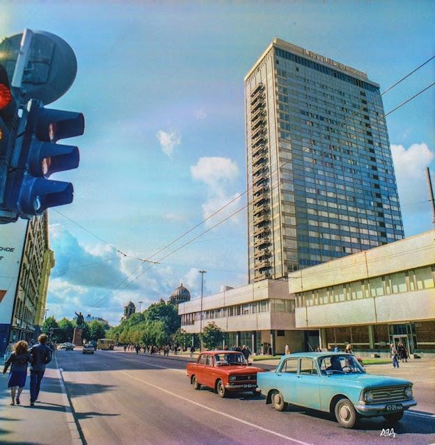 "1987 года. Рига, гостиница ""Латвия"". Radisson Blu Latvija"