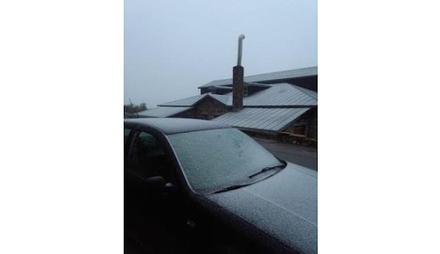 Έπεσαν τα πρώτα χιόνια στην Φλώρινα!