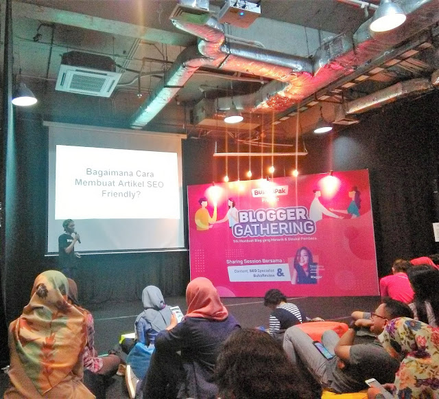 Blogger Gathering BukaLapak