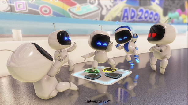 Astro's Playroom characters