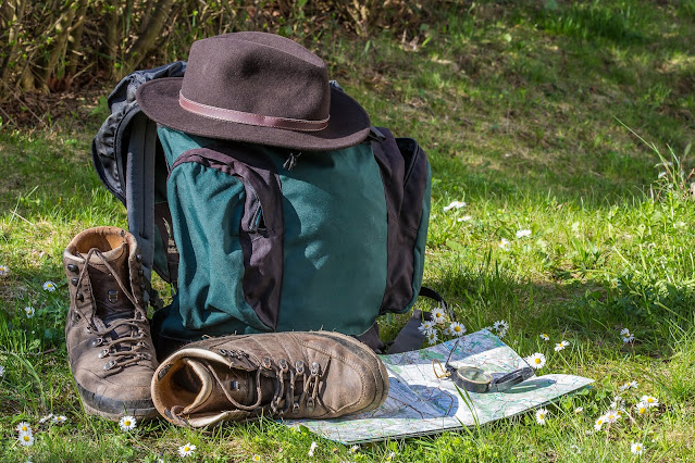 4 Footwear Choices When Traveling Light, hiking shoes