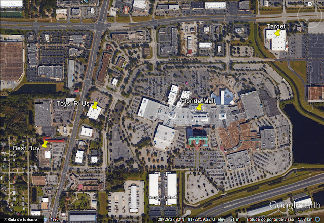 Localização pelo Google Earth