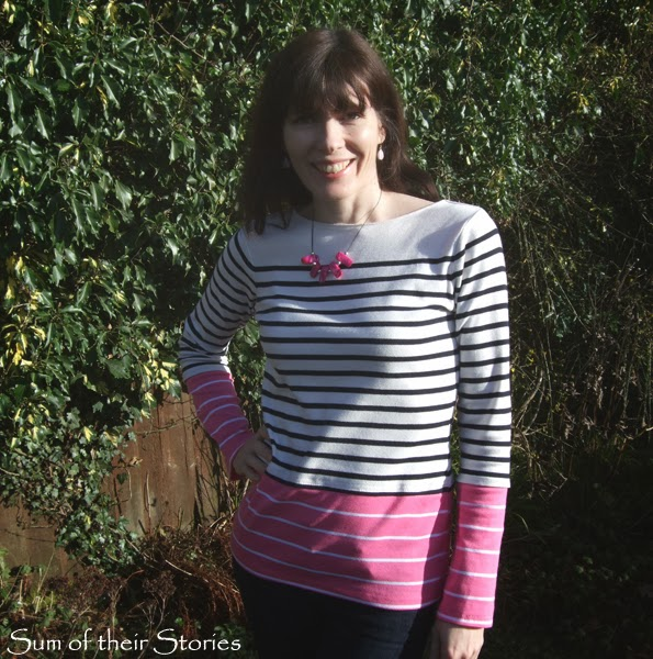 Stripy T-Shirt Refashion