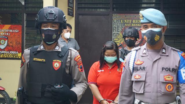 Seorang Ibu Rumah Tangga di Purbalingga Dibekuk Polisi Akibat Gelapkan Sepeda Motor