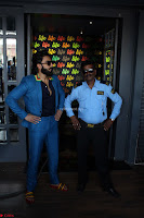 Ranveer Singh in Blue Blazer Spotted Life Bar ~  Exclusive 06.JPG