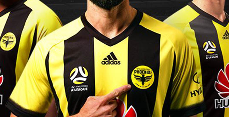 The new Wellington Phoenix 17-18 kits feature the club s brand-new logo  that was unveiled in early August 2017 as the team founded in 2007 entered  the ... 18cf271f3