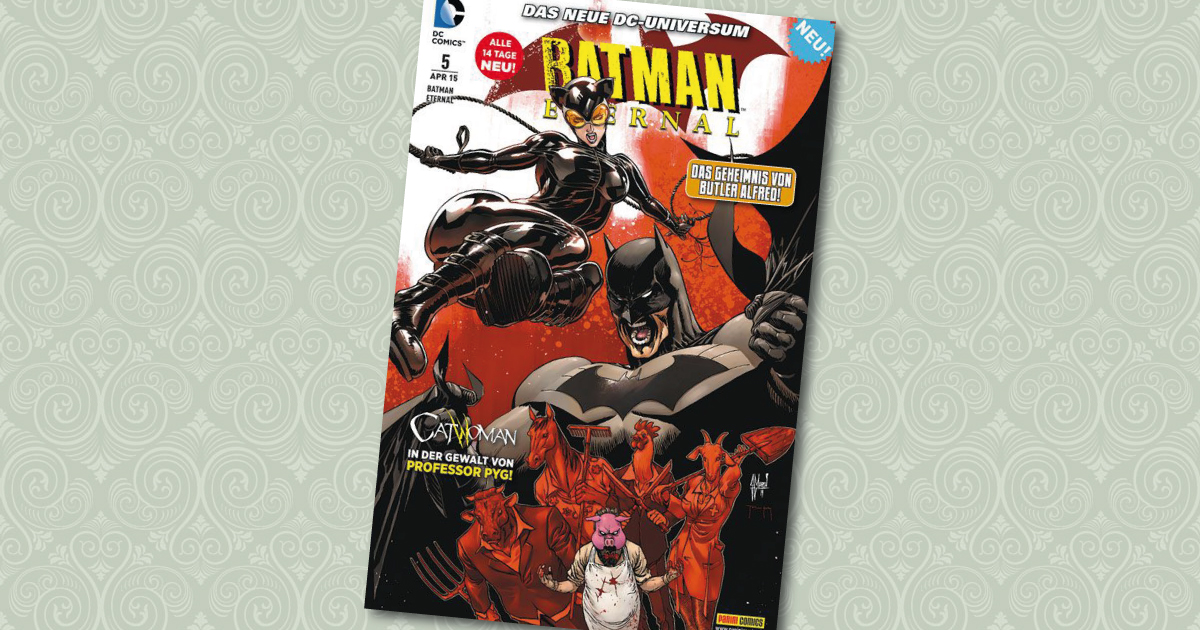 Batman Eternal 5 Panini Comic Cover