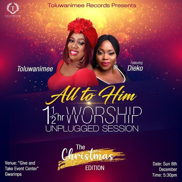 EVENT: Toluwanimee is set to kick of bi-Monthly Unplugged worship session ~ @toluwanimee