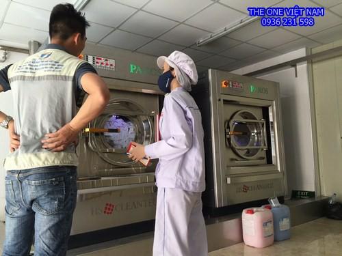 Cung cấp máy giặt sấy công nghiệp cho công ty thủy sản tại Thanh Hóa