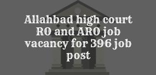 Allahabad RO ARO Vacancy 2021