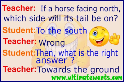 Funny Teacher and Student jokes in English