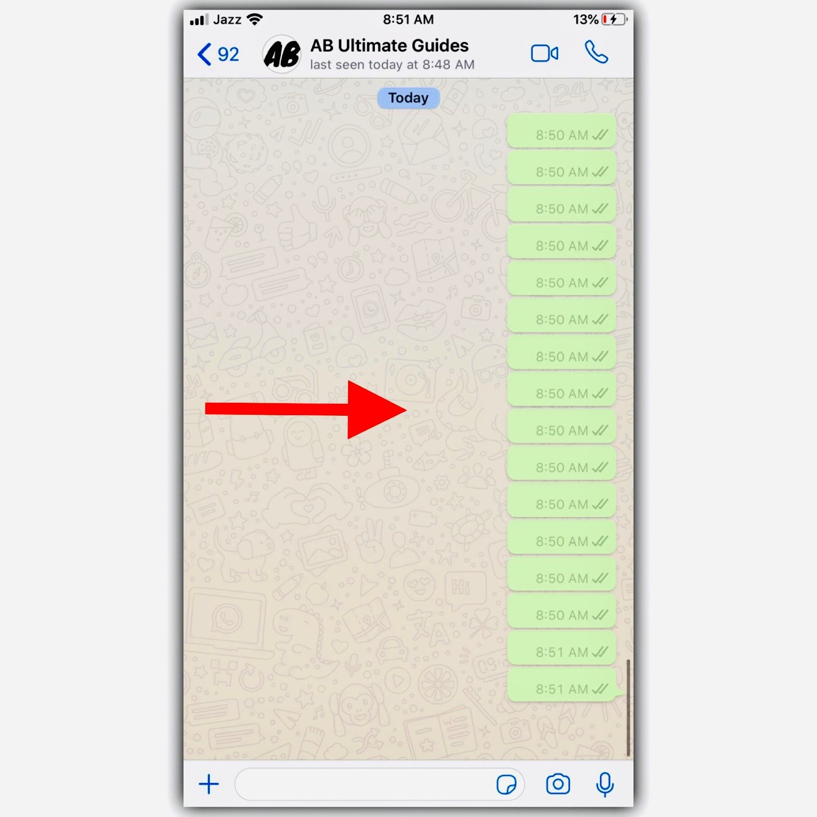 How To Send Blank Message On Whatsapp, abultimateguides