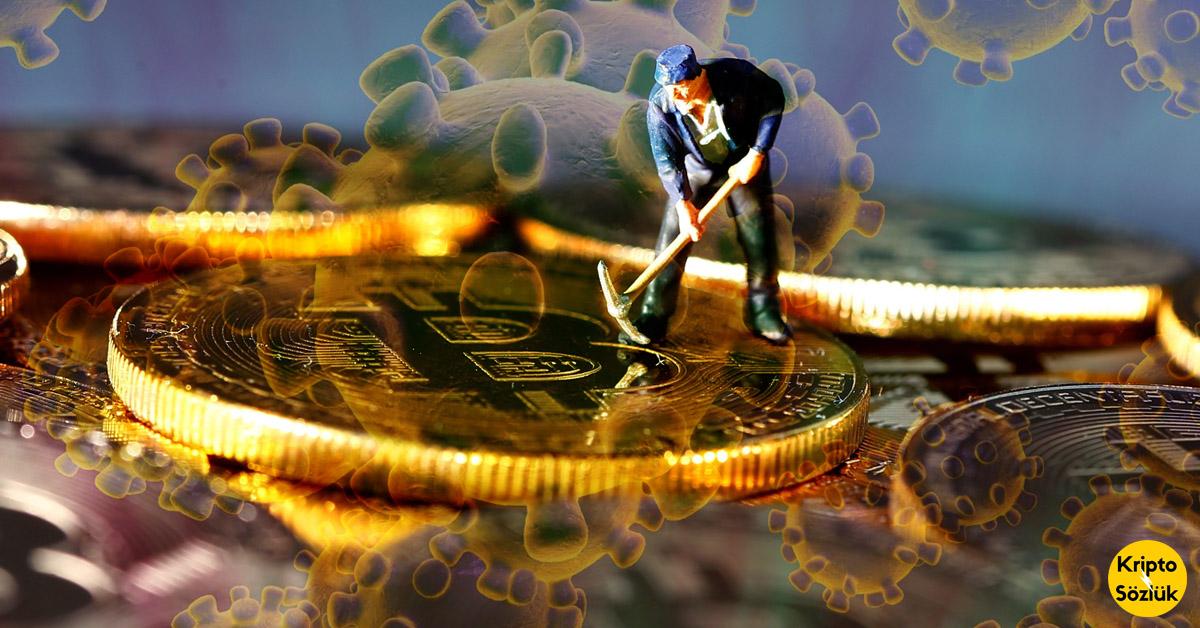Bitcoin Madenciliği Koronavirüs Nedeniyle Acı Çekiyor, BTC Yükseliyor!