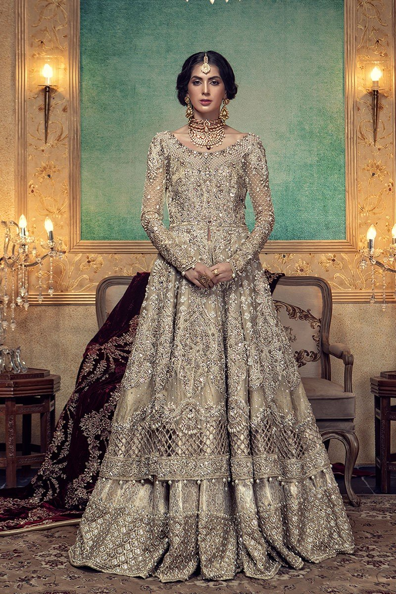 Stunningly beautiful Pakistani bridal wear by Maria B from her Daria-e-Noor collection