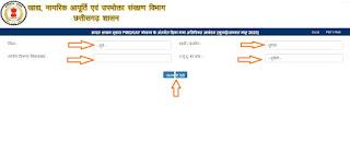 Cg khadya राशनकार्ड सूची