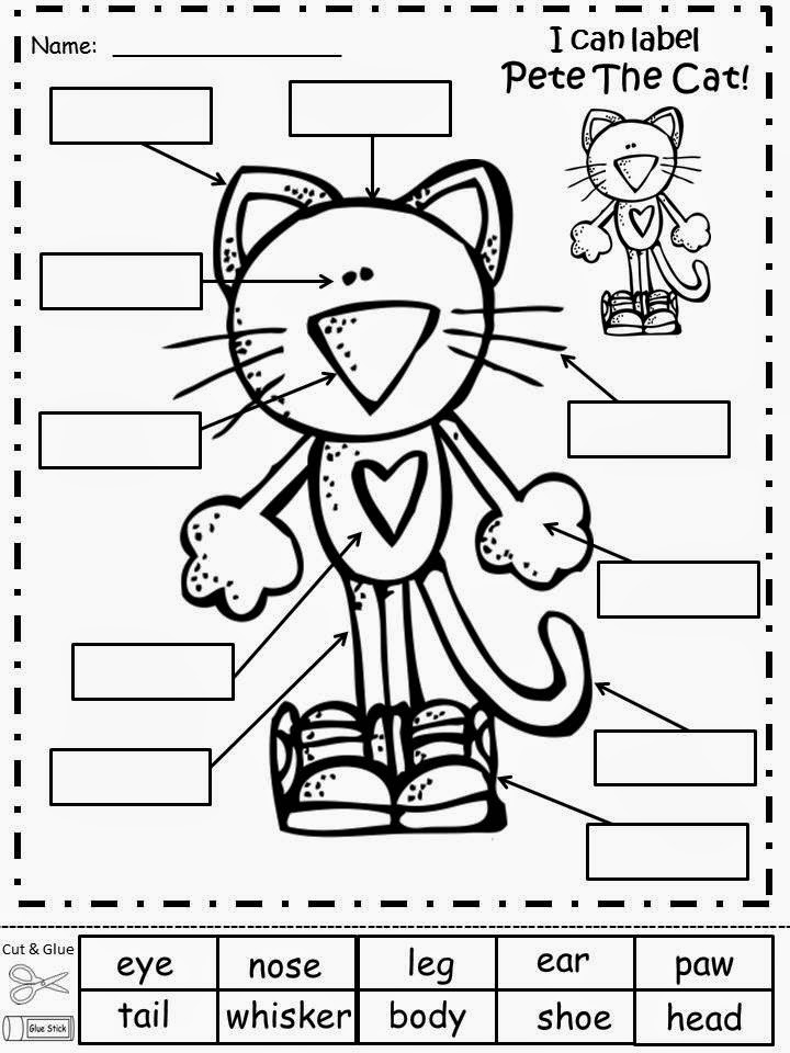 Fairy Tales And Fiction By 2 Pete The Cat Is Where Its At – Pete the Cat Worksheets