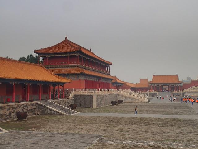 Zakazane Miasto w Pekinie - ogromny kompleks pałaców cesarskich