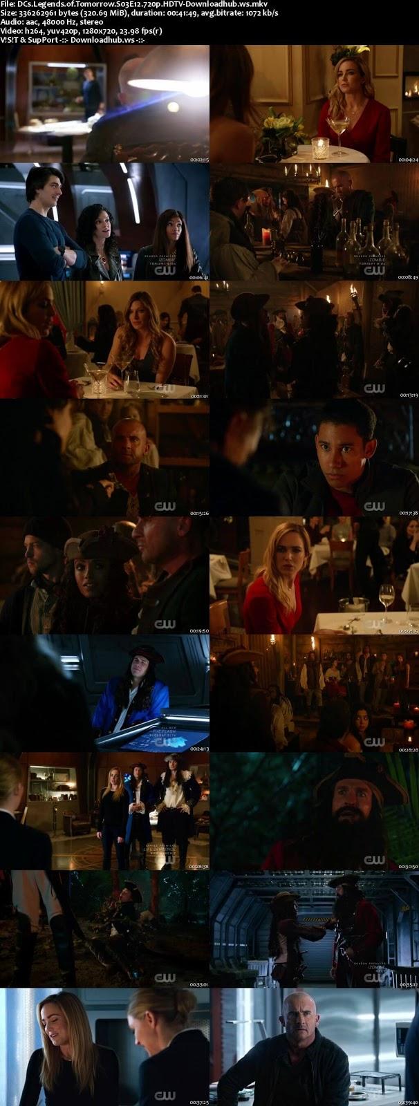 DCs Legends of Tomorrow S03E12 320MB HDTV 720p x264
