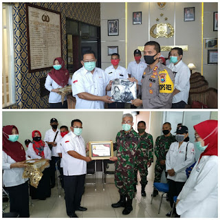 PMI Beri Reward Kepada TNI, Polri  dan Lembaga Lain