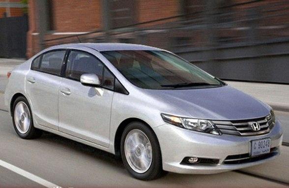 car model: Honda city 2012