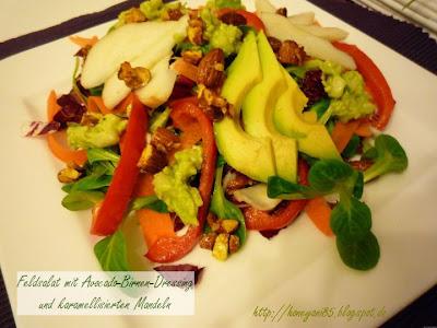 Feldsalat von vegan for fit