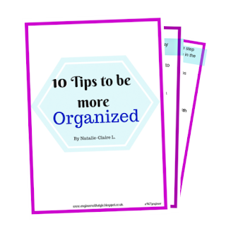 10 Tips to be more Organized