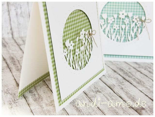 Frühlingskarten DIY schnell und einfach Stampin Up