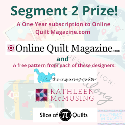 Destination: QAL segment 2 prizes