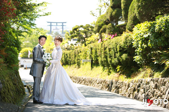 大神神社でのご結婚式の挙式撮影